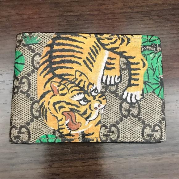 37e4ae722fddab Gucci Bags | Bengal Print Wallet Authentic | Poshmark